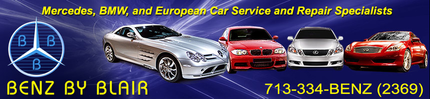 Mercedes Service in Houston Texas